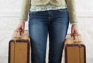 чемоданы в гири