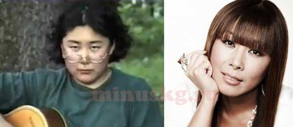 Анита Цой до и после похудения