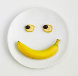 Маски из бананов