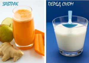 завтрак детокс диеты