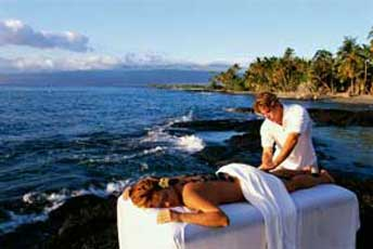 массаж по-гавайски