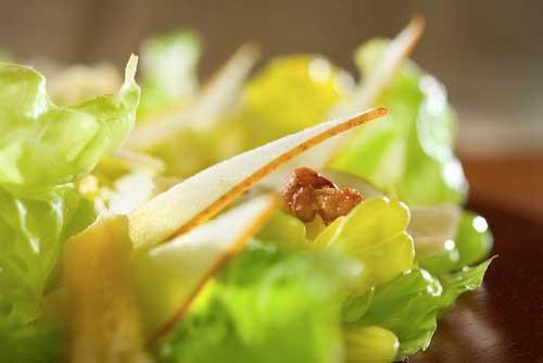 салат с грушей