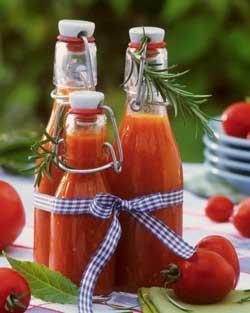 Рецепт томатного сока в домашних условиях