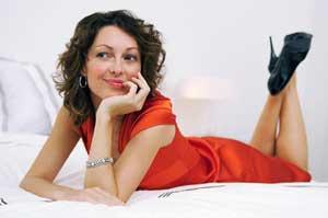 в чем встречать 2012 год - красное платье