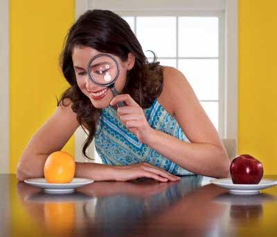калорийность яблока