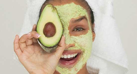 новогодняя маска для кожи