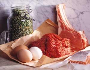 Мясо и яйца способствуют похудению