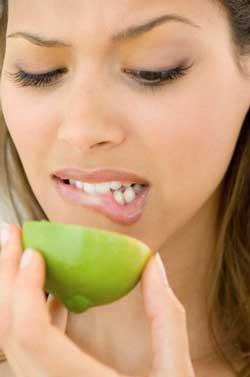 чистка зубного налета